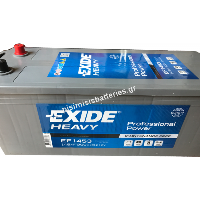 Μπαταρία για Φορτηγά EXIDE PROFESSIONAL POWER EF1453