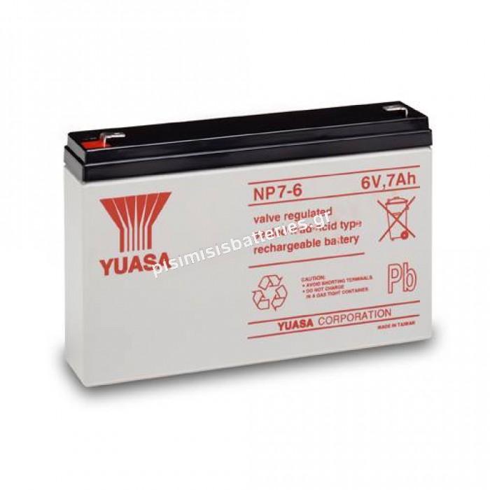 NP 7.0-6 YRLA/UPS
