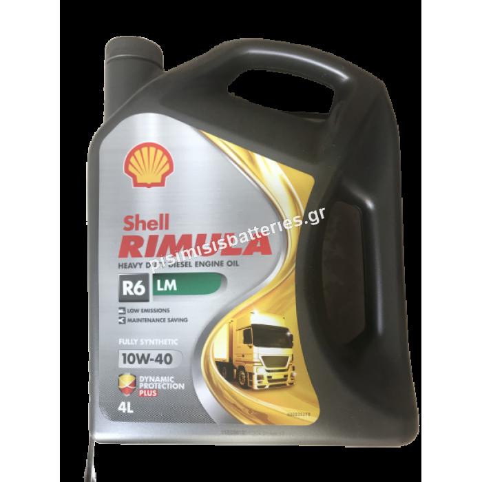 Shell Rimula R6 LM 10W-40 4lt