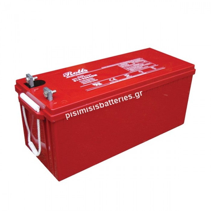 Μπαταρία Βαθειάς Εκφόρτισης Rolls S12-230 AGM 12V 230Ah 1200CCA