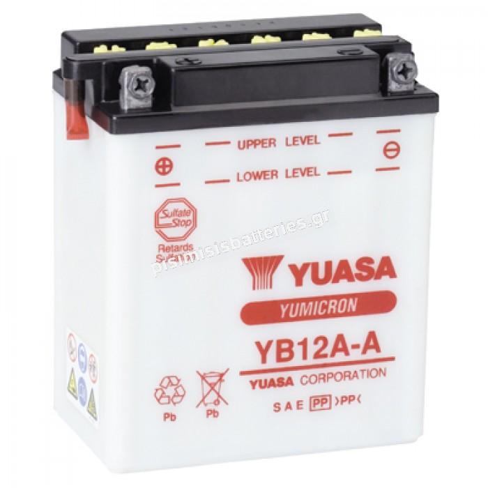 Μπαταρία μοτοσυκλέτας Yuasa YB12A A