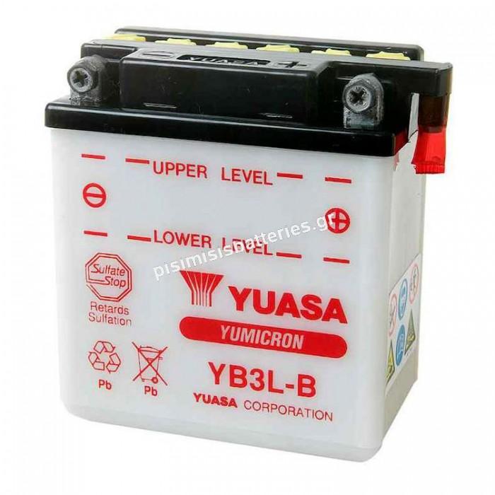 Μπαταρία μοτοσυκλέτας Yuasa YB3L B