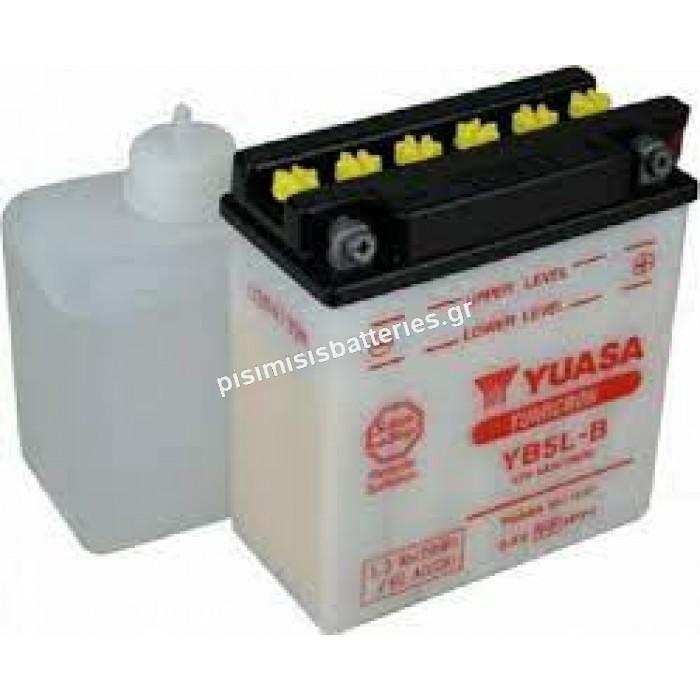 Μπαταρία μοτοσυκλέτας Yuasa YB5L-B 5Ah με υγρά