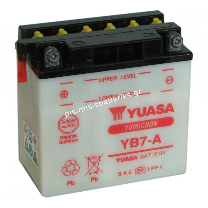 Μπαταρία για Μοτοσυκλέτα SPARK YB7-A