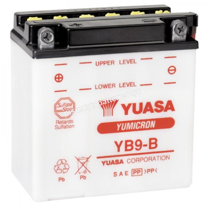 Μπαταρία μοτοσυκλέτας Yuasa YB9-B