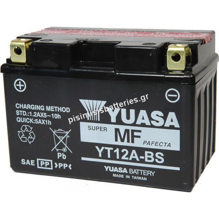 Μπαταρία μοτοσυκλέτας Yuasa YT12A-BS 12V