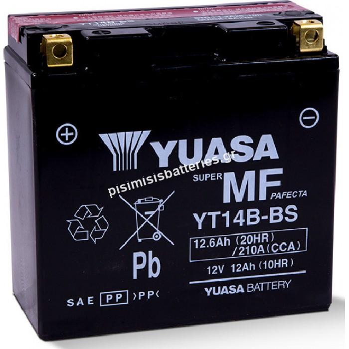 Μπαταρία μοτοσυκλετών Yuasa YT14B-BS 12V 12.6Ah