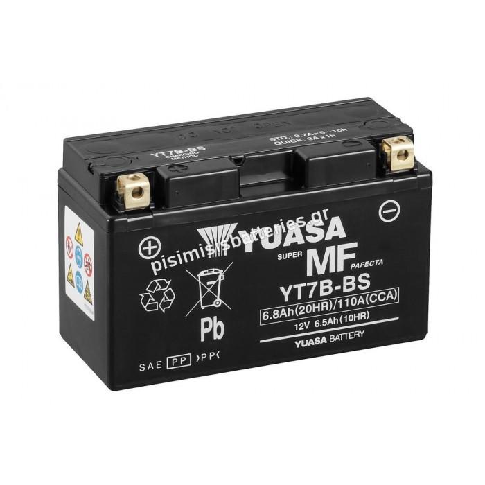 Μπαταρία για Μοτοσυκλέτα SPARK YT7B-BS