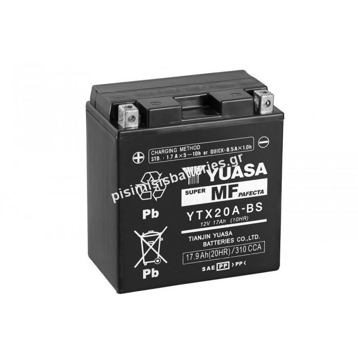 Μπαταρία για Μοτοσυκλέτα SPARK YTX20A-BS