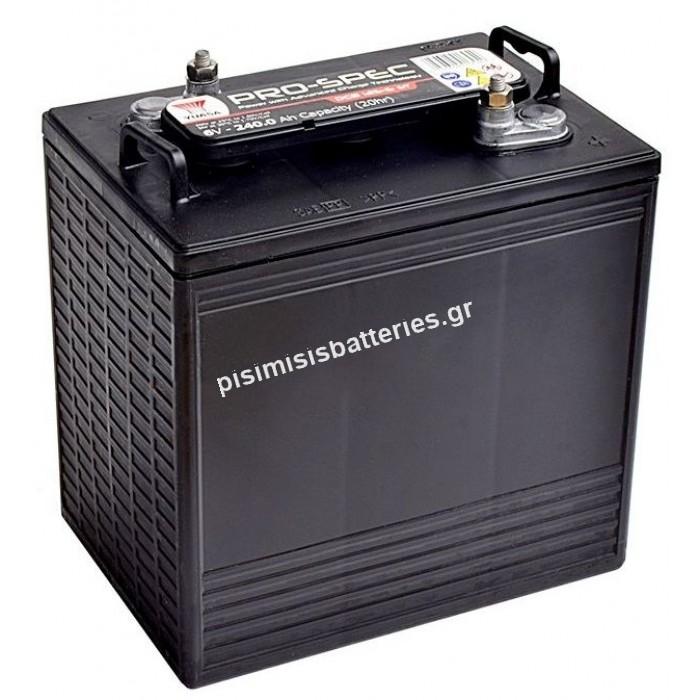Μπαταρία Φωτοβολταϊκών Yuasa Pro Spec DCB 125-6 6V 240Ah