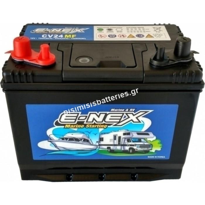 Μπαταρία για γεννήτριες E-NEX CV24MF 12V 70Ah