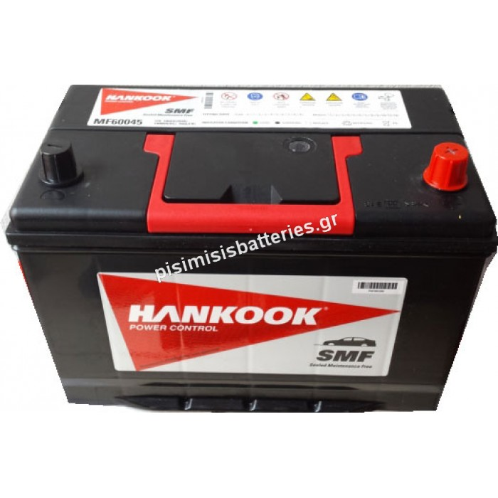 Μπαταρία Αυτοκινήτου HANKOOK MF60045