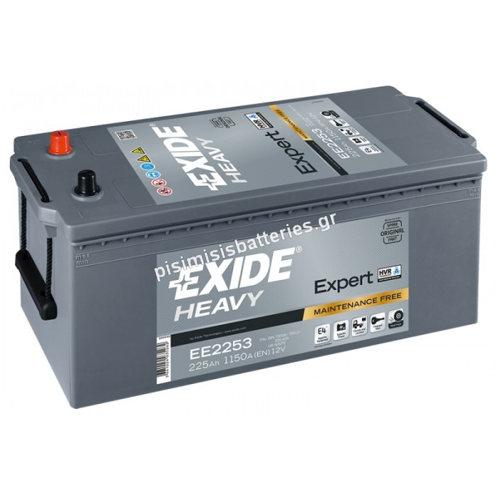 Μπαταρία για Φορτηγά EXIDE EXPERT HRV EE2253