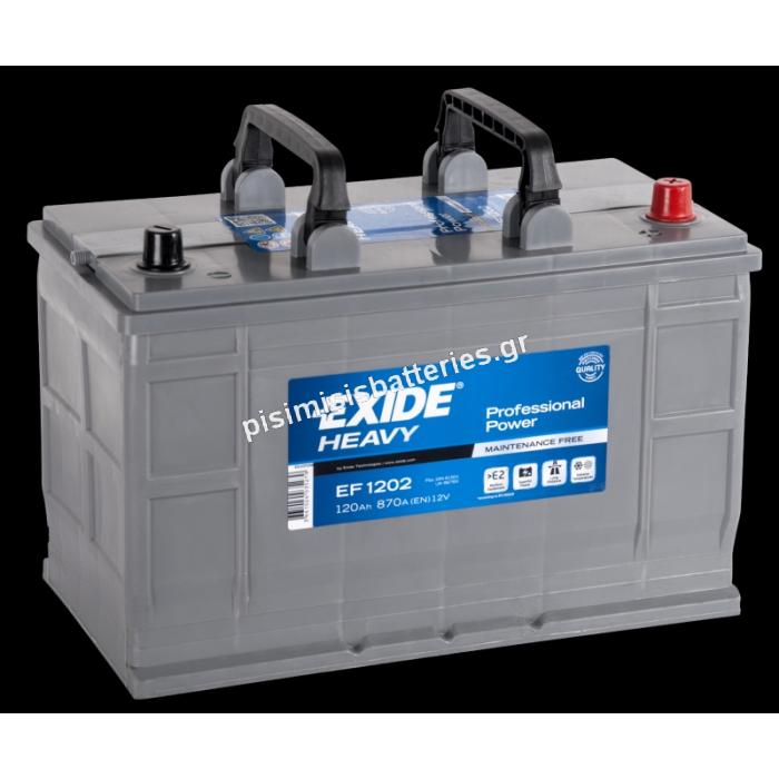 Μπαταρία για Φορτηγά EXIDE PROFESSIONAL POWER EF1202