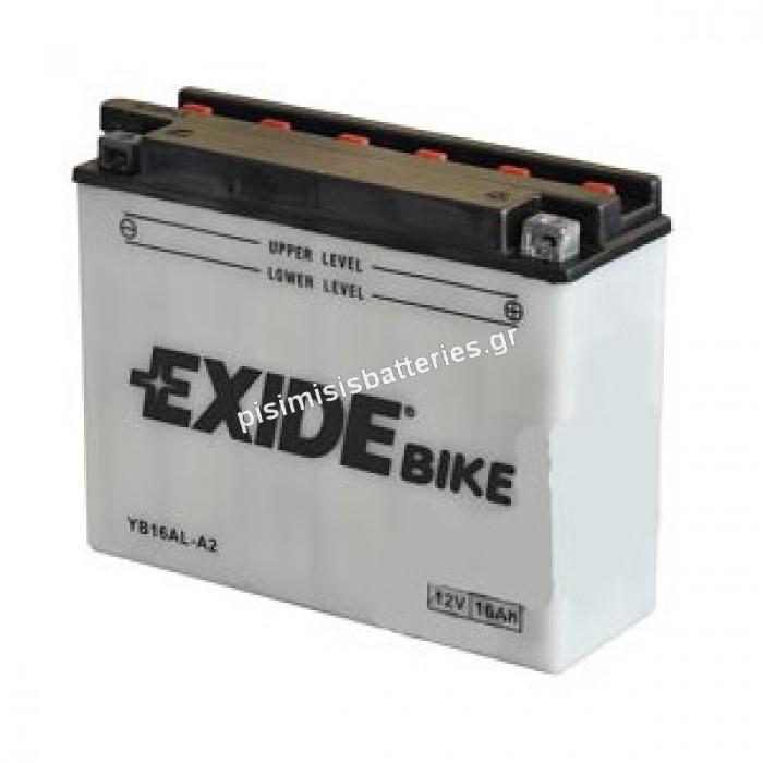 Μπαταρία για Μοτοσυκλέτα EXIDE YB16AL-A2