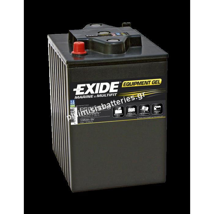Μπαταρία Φωτοβολταϊκών EXIDE ES1000-6-bat2