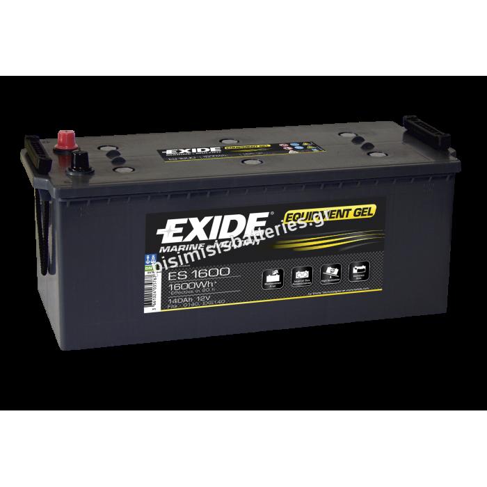 Μπαταρία Φωτοβολταϊκών EXIDE ES1600-bat1