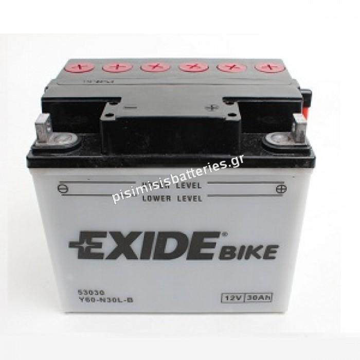 Μπαταρία για Μοτοσυκλέτα EXIDE Y60-N30-A