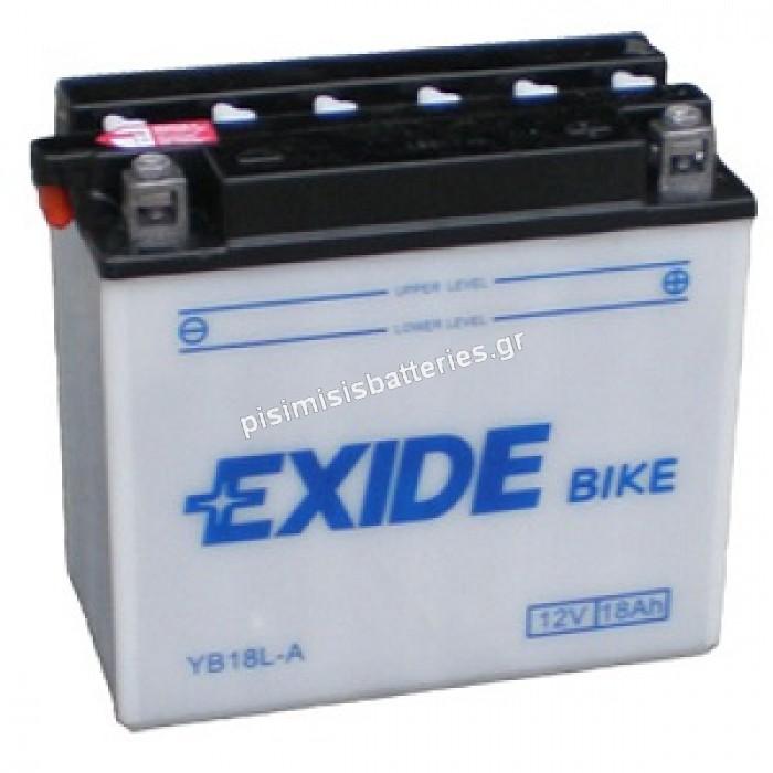 Μπαταρία για Μοτοσυκλέτα EXIDE YB18L-A