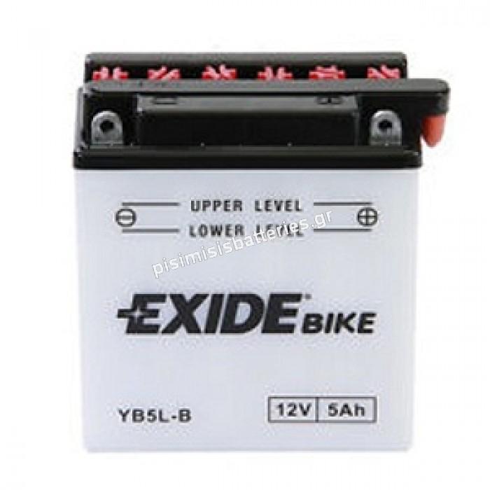Μπαταρία για Μοτοσυκλέτα EXIDE YB5L-B ( EB5L-B )