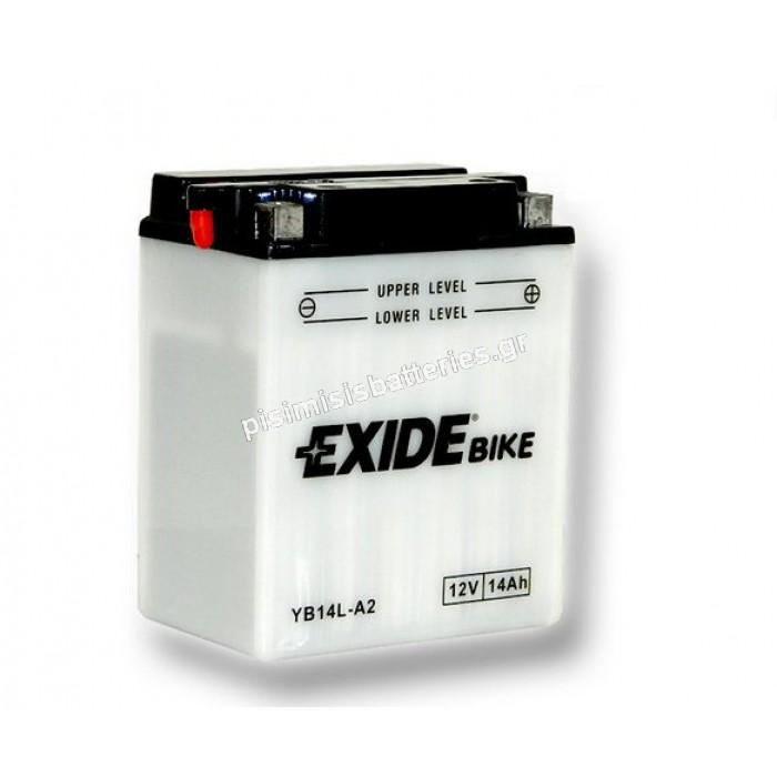 Μπαταρία για Μοτοσυκλέτα EXIDE YB14L-A2