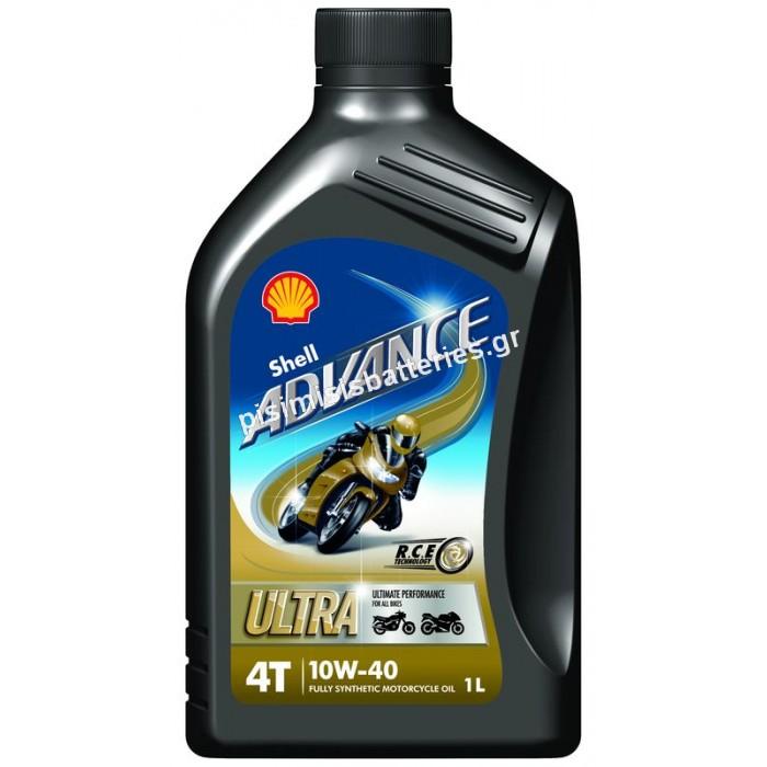 Λιπαντικό Shell Advance MOTO Ultra 4T 10W-40 1L