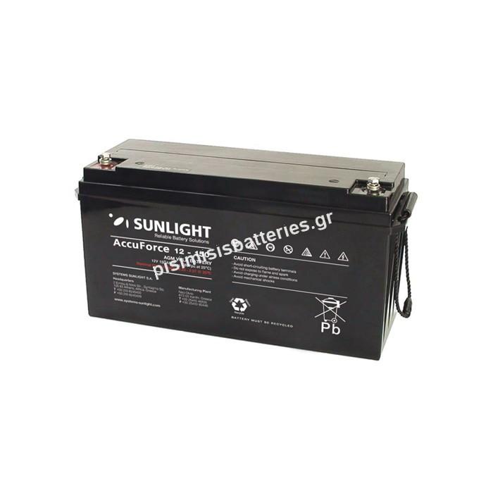 Μπαταρία UPS Sunlight VRLA - AGM SPB 12-150 12V 150Ah