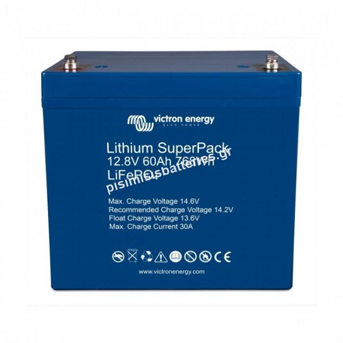 Μπαταρία Victron Lithium SuperPack 12,8V 60Ah (M6)