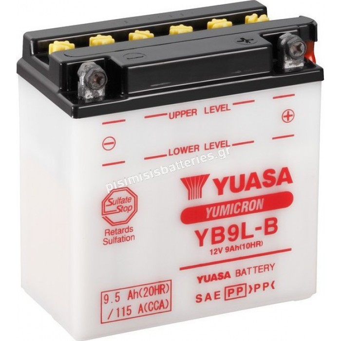 Μπαταρία για Μοτοσυκλέτα Yuasa YB9L-B