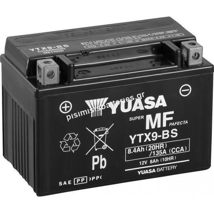Μπαταρία Μοτοσυκλέτας Yuasa YTX9-BS